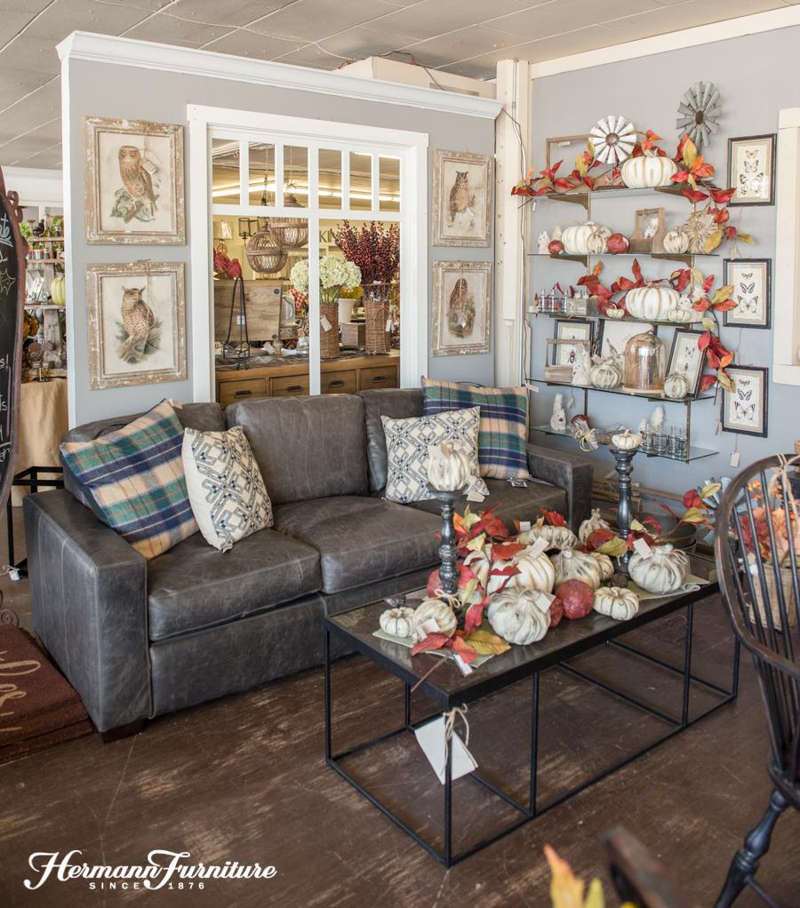 Fall Living Room Inspiration Hermann Furniture