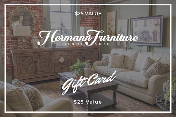 Gift Certificate Hermann Furniture